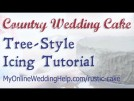 Tree Style Country Wedding Cake Tutorial (using buttercream)