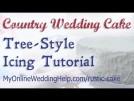 Tree Style Country Wedding Cake Tutorial (using buttercream)