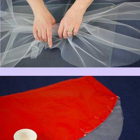 Ideas: How to Embellish a Wedding Veil with Trim 2