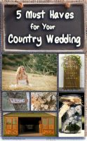 5 Must Haves for Your Country Wedding 3