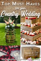 5 Must Haves for Your Country Wedding 1