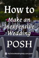 Top 5 Ways to Posh Up Your Wedding on a Budget 4