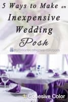 Top 5 Ways to Posh Up Your Wedding on a Budget 10