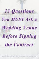 101 Questions to Ask Your Wedding Venue Covering 15 Must-Know Topics 6