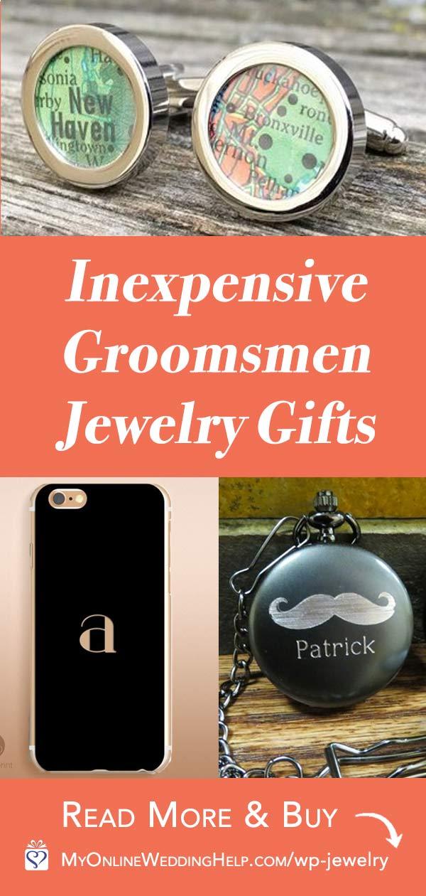 Inexpensive Groomsmen Jewelry Gift Ideas