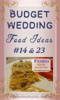 Budget wedding food idea. Serve filling foods. And consider Mexican favorites. This recipe combines both ... read it on the My Online Wedding Help blog. #BudgetWedding