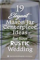 25 Mason Jar Centerpiece Ideas for Weddings 5