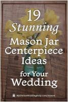 19 Stunning Mason Jar Centerpiece Ideas for Your Wedding