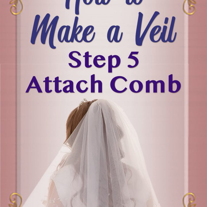 Ideas: How to Embellish a Wedding Veil with Trim 5