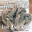 How to Make a Rope Heart in 5 Steps 2