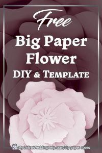 DIY Giant Paper Flowers Template