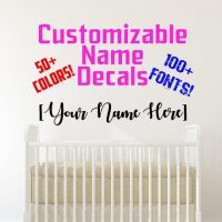Custom Name Decals