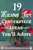 25 Mason Jar Centerpiece Ideas for Weddings 2