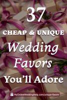 37 Non-Traditional Wedding Favor Ideas You'll Adore 4