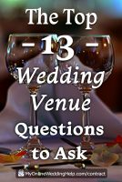 101 Questions to Ask Your Wedding Venue Covering 15 Must-Know Topics 5