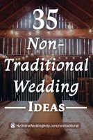 35 Non-traditional Wedding Ideas You May Not Have Thought About 1