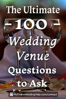 101 Questions to Ask Your Wedding Venue Covering 15 Must-Know Topics 1