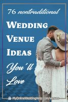 76 Nontraditional Wedding Venue Ideas You'll Love