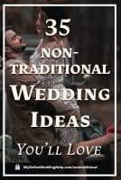 35 Non-traditional Wedding Ideas You May Not Have Thought About