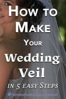 How to Make Your Wedding Veil in 5 Easy Steps
