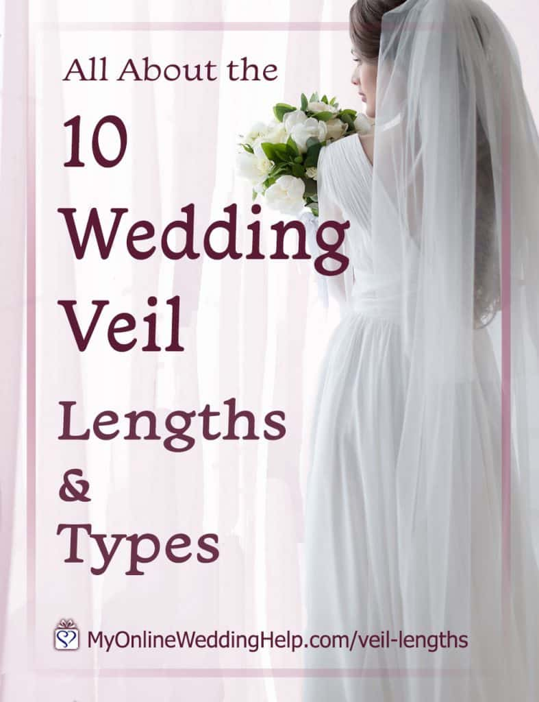 10 Wedding Veil Lengths and Types