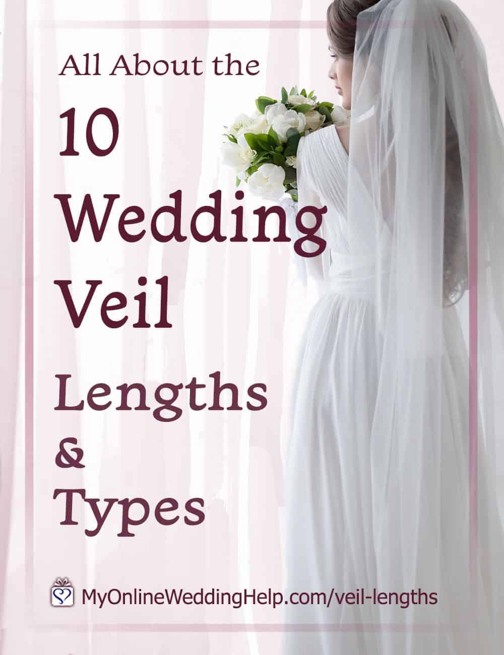 10 Wedding Veil Lengths and Types
