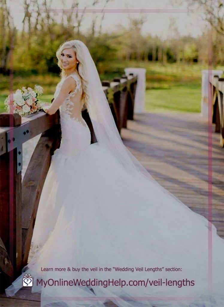 Long Length Wedding Veil