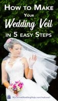 How to Make a Wedding Veil in 5 Easy Steps