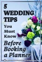 Wedding Tips You Must Know Before Hiring a Wedding Planner