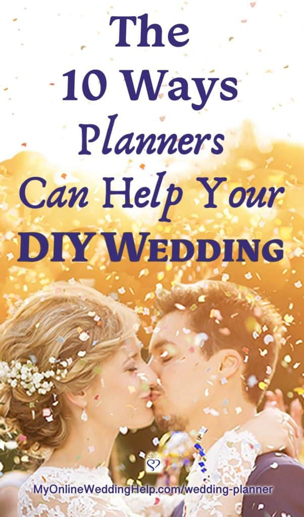 What a wedding planner can do to help your DIY wedding
