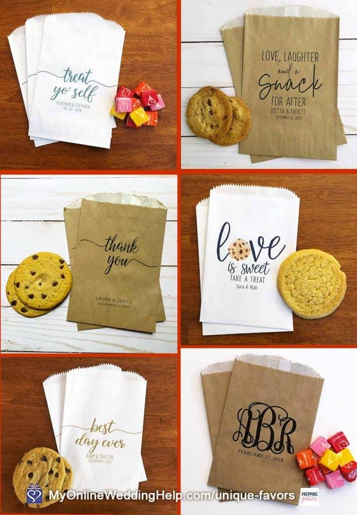 DIY Cookie Wedding Favors