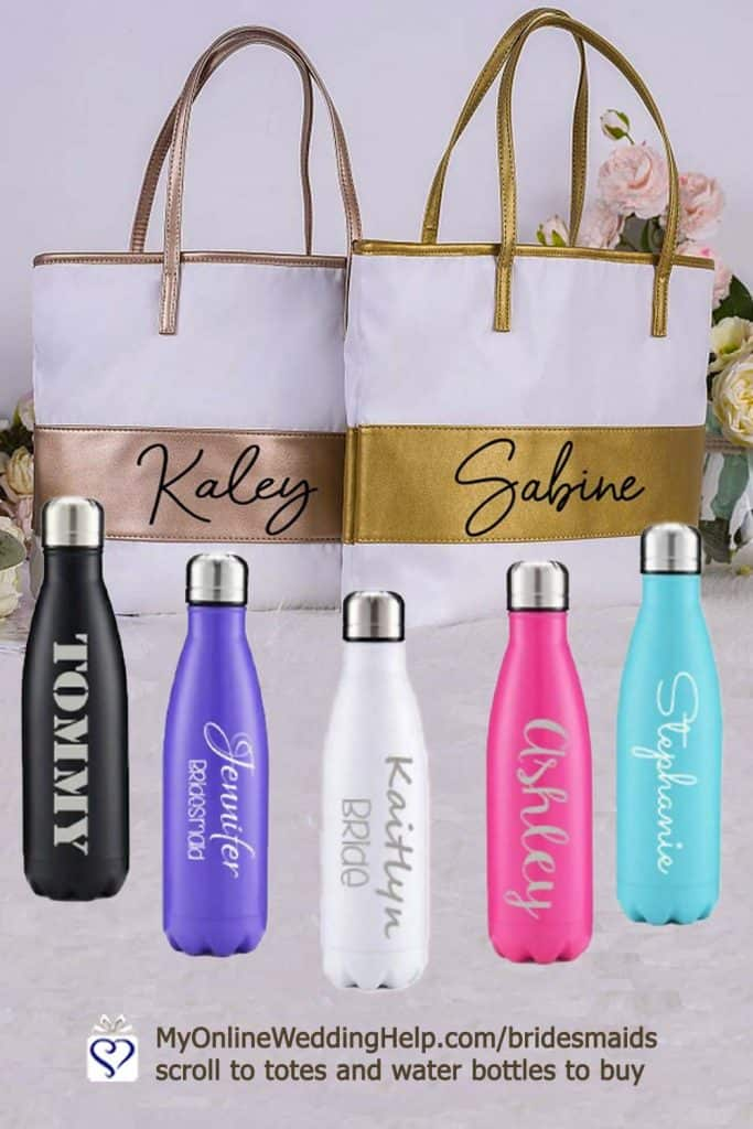 Custom Totes and Water Bottles