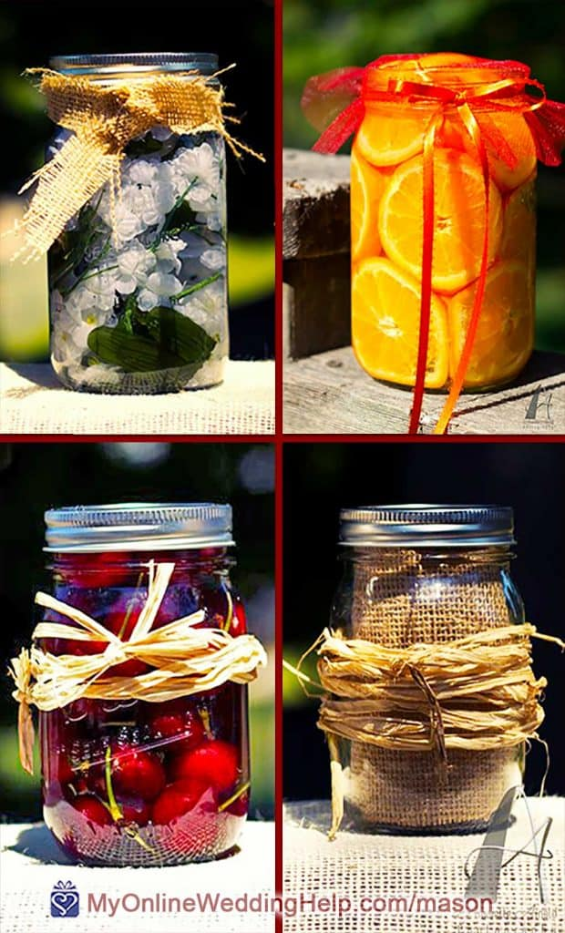 Filler for Mason Jar Centerpieces