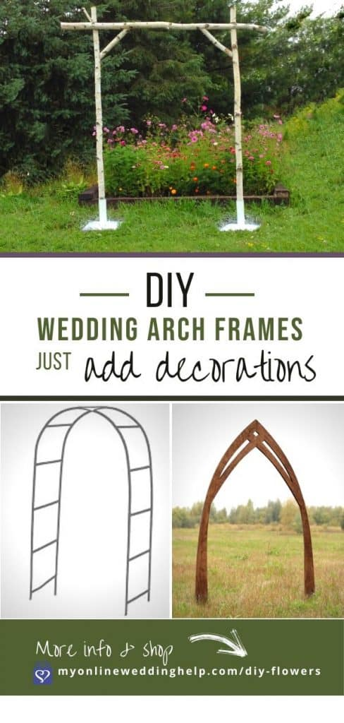 Wedding Arch Frames for DIY Arches