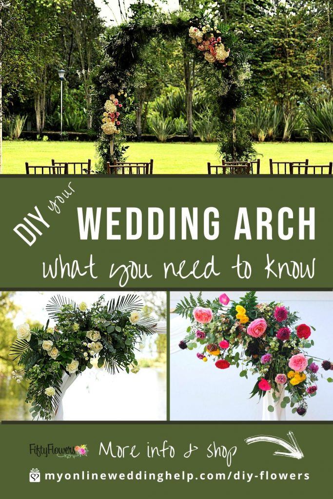 DIY your Wedding Arch. What you need to know.