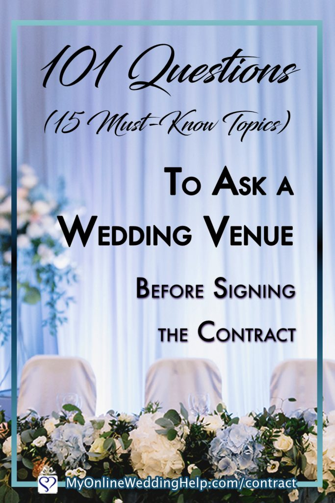 Must-Know Questions to Ask a Wedding Venue Before Signing the Contract