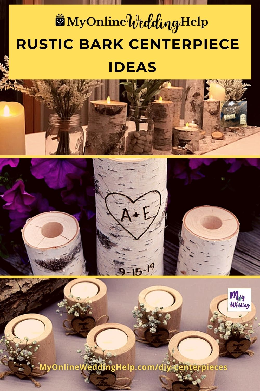 DIY Wedding Centerpieces with Flowers 1