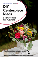 DIY Wedding Centerpieces with Flowers