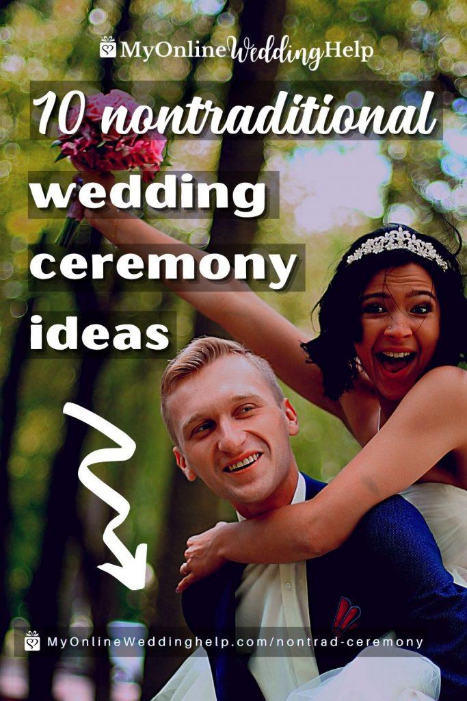10 Nontraditional Wedding Ceremony Ideas